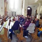 Bei der Führung durch die Stadtpfarrkirche