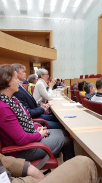 Interessante Infos aus dem Landtag bekamen wir im Plenum.