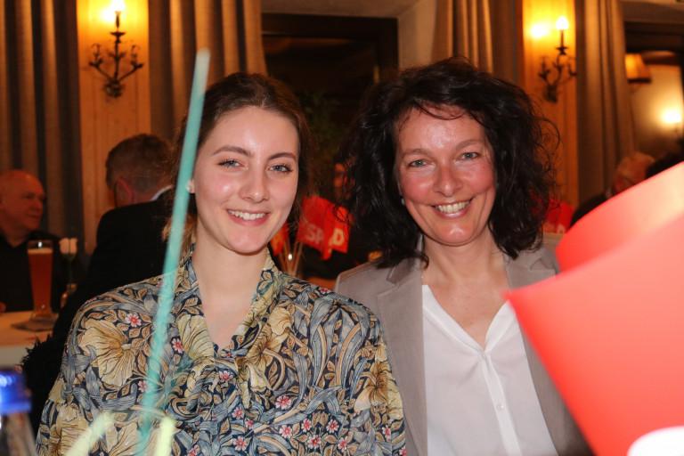Mit Tochter Pia